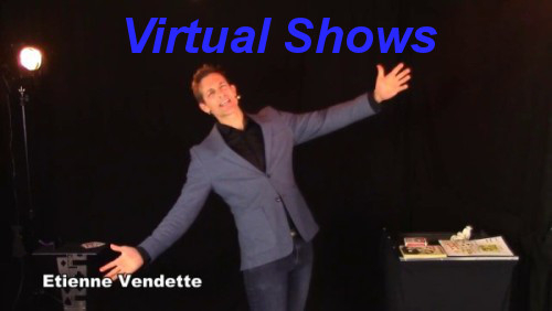 Virtual magic shows